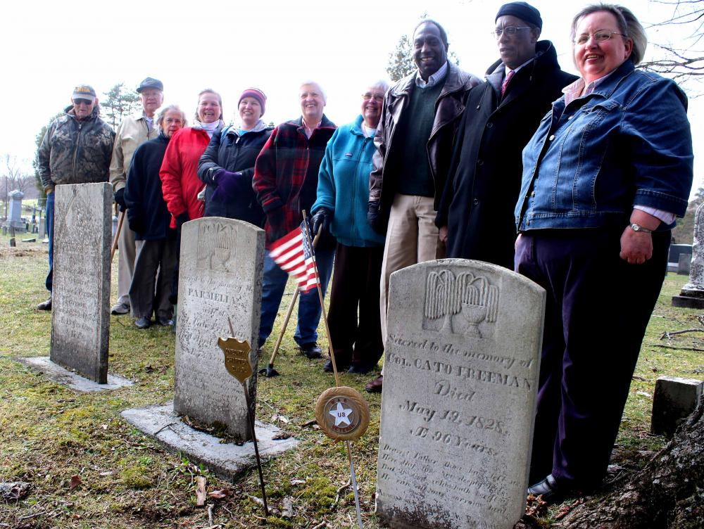 Cato Freedom Marker Ad Hoc Group Photo by Jim Kevlin