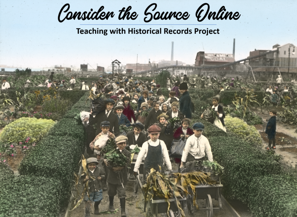 Consider the Source Online Image