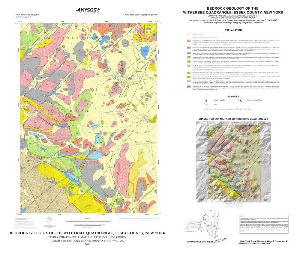 Map & Chart Series | The New York State Museum Geological Survey Maps on census bureau maps, geological map for flint, topographic survey maps,