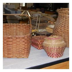 brown baskets