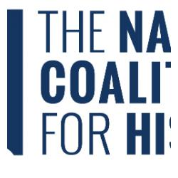 National Coalition of History Logo