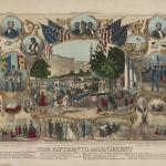 The Fifteenth amendment, 1870 by Thomas Kelly