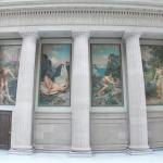 Murals in the Rotunda in the State Education Building