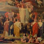 Genius of America Mural in Chancellors Hall