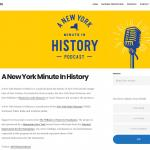 A New York Minute in History Website