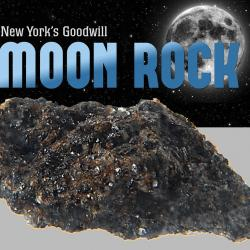 New York's Goodwill Moon Rock!