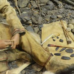 Native People projectile point making