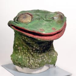 Frog lady costume mask