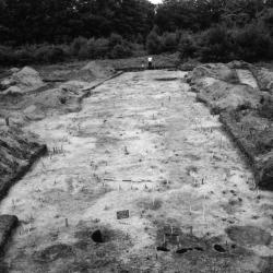 photo of Garoga House archaeological dig