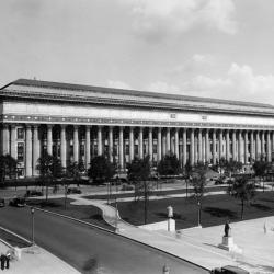 old photograph of NYS Education Building