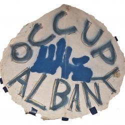Occupy Albany Sign