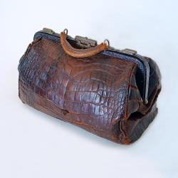 Susan B. Anthony's Alligator Purse