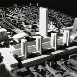 Empire State Plaza Model, South Mall