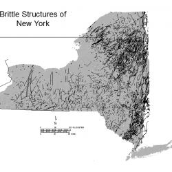 Brittle Structures of New York-Map