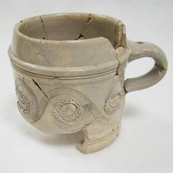 remains of a mug found on Broadstreet.