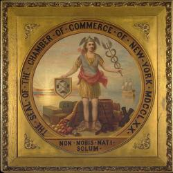Seal of the Chamber of Commerce of New York