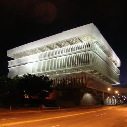 Museum Facade at at Night