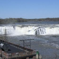Photo of Cohoes water falls