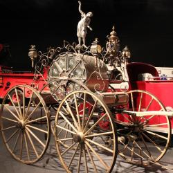 Fire engine carriage