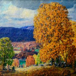 Catskills at Woodstock by Frank Swift Chase