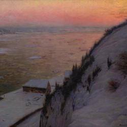 St. Lawrence River Sunset, n.d. by Birge Harrison