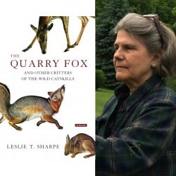 The Quarry Fox author Leslie T. Sharpe