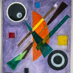 Abstract Composition by Rolph Scarlett, c. 1940