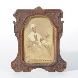 Sojourner Truth, framed carte de visite
