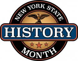 New York State History Month Logo