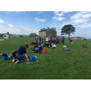 Buffalo State Students Digging Up History at Old Fort Niagara