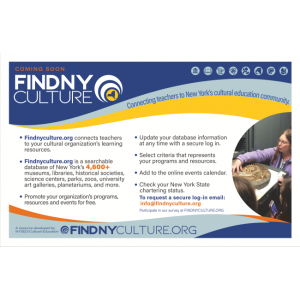 Findnyculture.org New York State Education Department's Office of Cultural Education