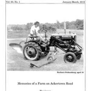 Historical Society of Rockland County Journal Cover