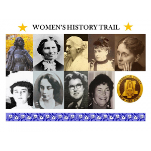 Women's History Trail Graphic