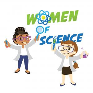 Women of Science Logo