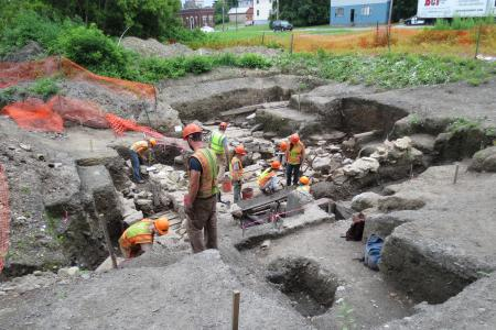 lincoln ave digging 3