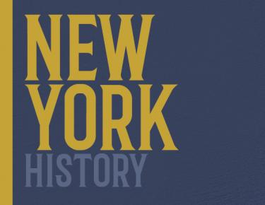 New York History Cover