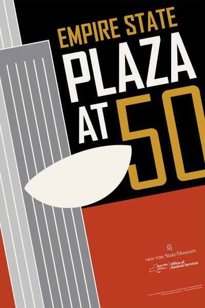 Plaza at 50 exhibition graphic