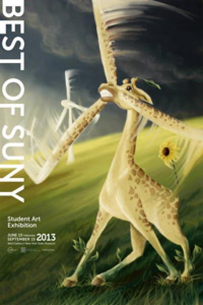 Student Art Exhibition poster 2013