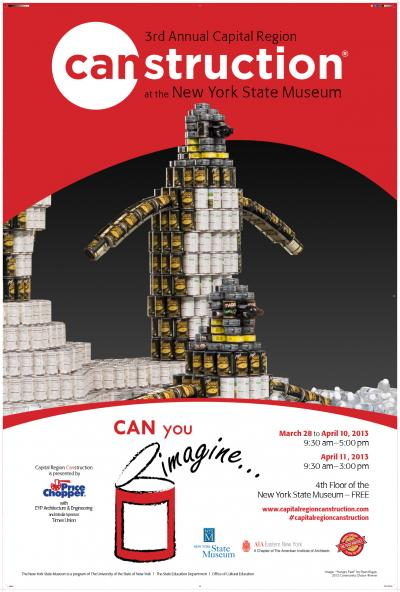 Canstruction 2013 Poster