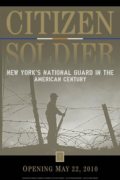 Citizen Soldier exhibition graphic