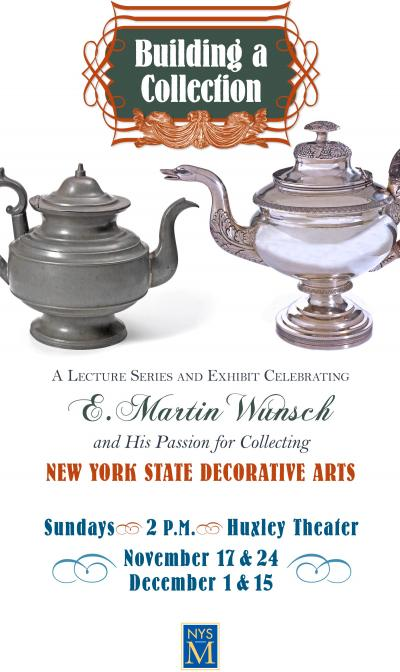 New York State Decorative Arts graphic
