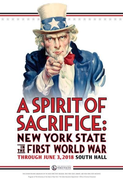 A Spirit of Sacrifice: New York State in the First World War logo