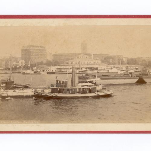 Photograph of New York Harbor