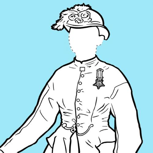NYSM Coloring Page: Mary Walker
