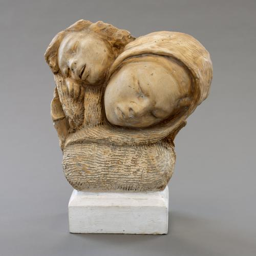 Henry DiSpirito, Refugees (Mother and Child), c. 1953