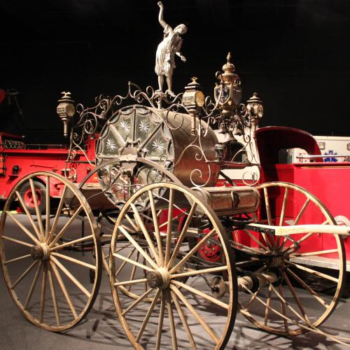 1875 Parade fire engine Carriage