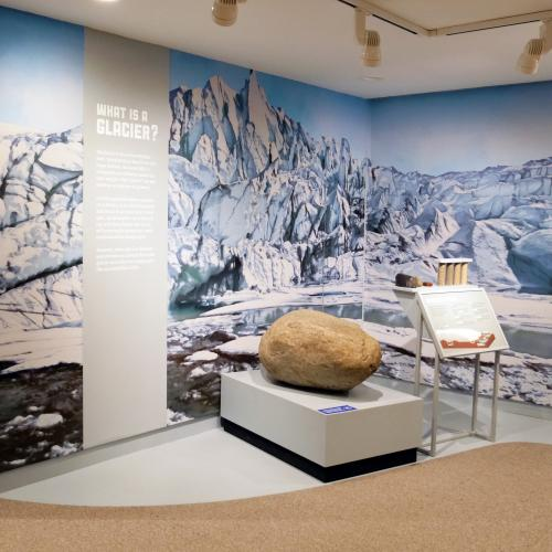 NYSM Ice Ages Glacier Gallery View