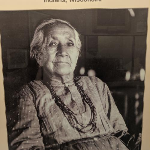 Harriet Quinney, Mohican woman