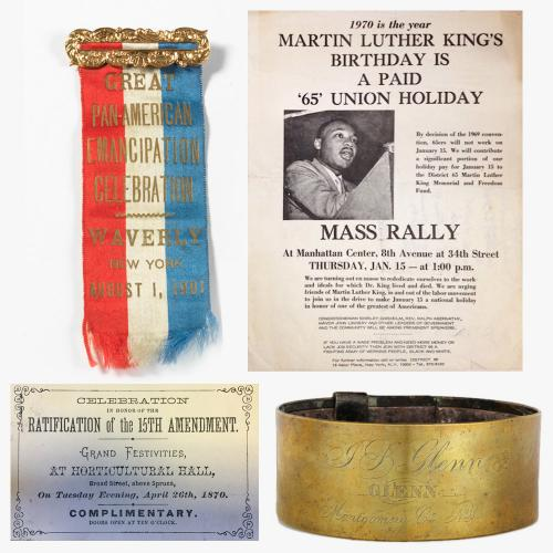 Artifacts from the NYSM History Collections