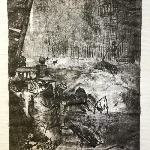 George Bellows lithograph